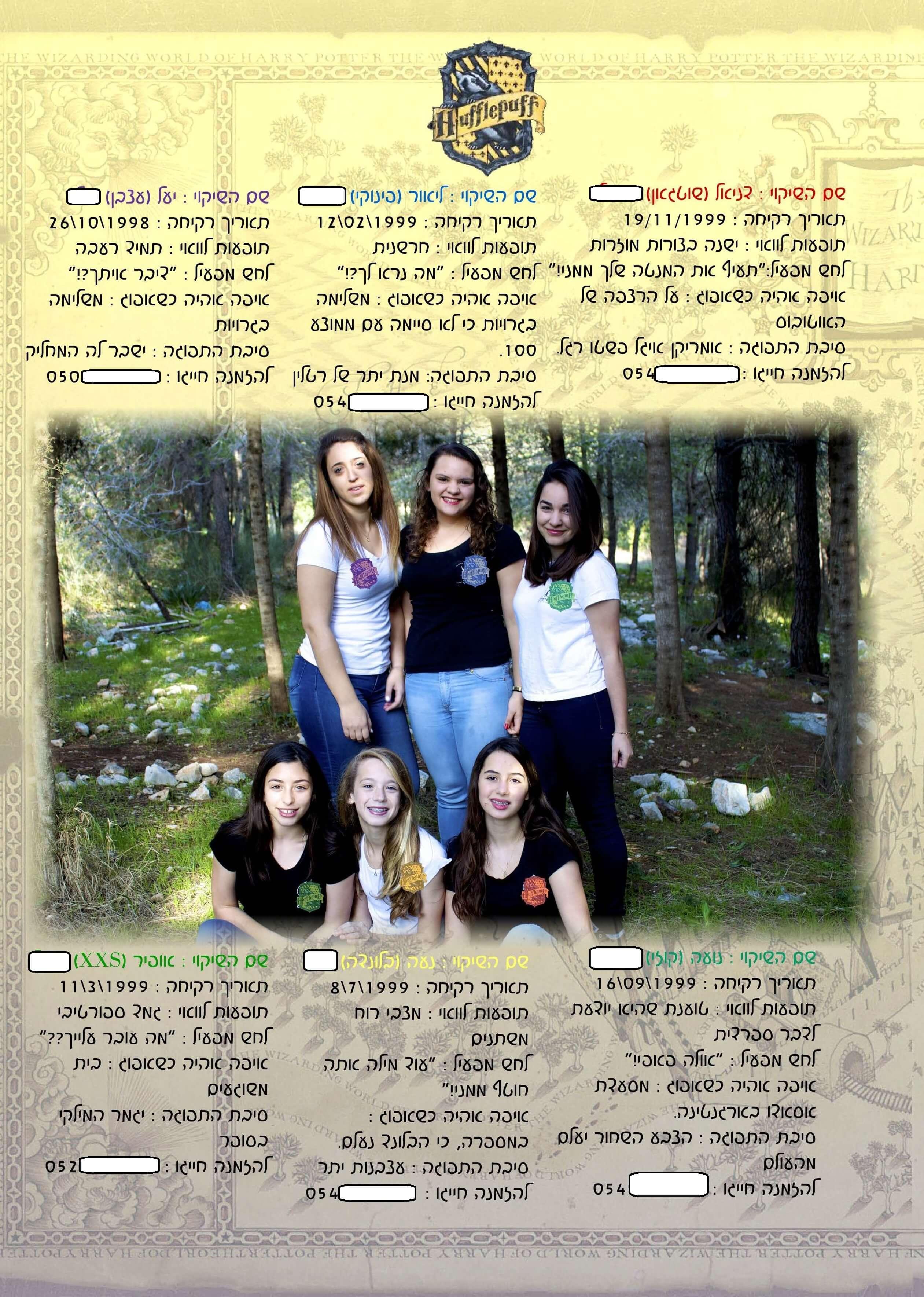 תמונה קבוצתית בספר
